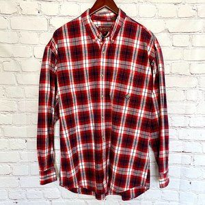 Roper Multicolor Check Long Sleeve Casual Shirt XL